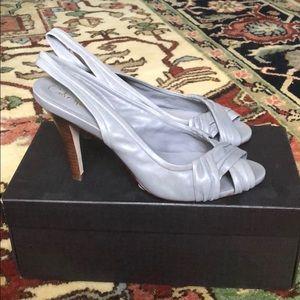Gorgeous Gray heels brand new!
